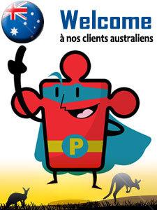 Amis clients australiens , Bienvenue chez jeu-puzzles.com, Merci de votre confiance | Jeu puzzles | Scoop.it