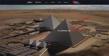 Un site interactif pour visiter les pyramides de Gizeh en 3D | 21st Century Innovative Technologies and Developments as also discoveries, curiosity ( insolite)... | Scoop.it