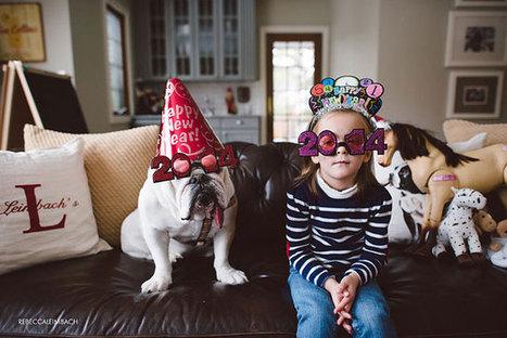Portraits photos d'une amitié entre une petite fille et un Bulldog anglais | CaniCatNews-actualité | Scoop.it