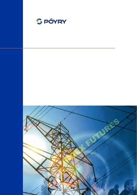 Proposition pour une nouvelle architecture du marché de l'électricité - France Energie Eolienne et Cabinet Pöyry   France Energie Eolienne   Scoop.it