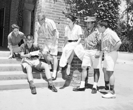 When Wearing Shorts Was Taboo | INTRODUCTION TO THE SOCIAL SCIENCES DIGITAL TEXTBOOK(PSYCHOLOGY-ECONOMICS-SOCIOLOGY):MIKE BUSARELLO | Scoop.it