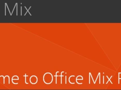 Microsoft Office 'Mix' -- a next-gen presentation app? - CNET   Edtech PK-12   Scoop.it