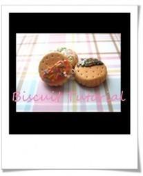 Tuto vidéo : Biscuits en pâte polymère | Bijoux sucrés, Bijoux fantaisie, Bijoux gourmands, Pâte Fimo, Nail Art et Miniatures gourmandes | Bijoux Sucrés | Scoop.it