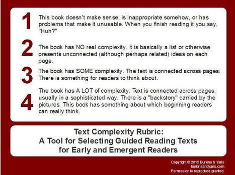 Misunderstanding Text Complexity (Part 2)   Burkins & Yaris   Common Core Online   Scoop.it