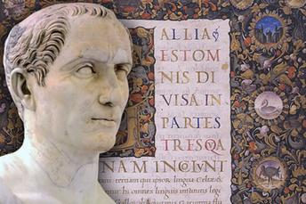 Meet Caesar, man of letters, says Stanford's Christopher Krebs | Ancient History | Scoop.it