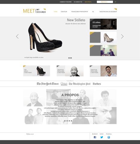 Les internautes, mécènes des créateurs de mode ? - LaDépêche.fr | Salle de presse : Meet My Designer | Scoop.it
