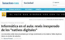 """[PQS] Para que sepan: """"Nativos digitales"""" y la Informática en la escuela...   Educando con TIC   Scoop.it"""