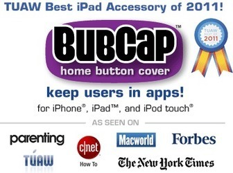 BubCap by Paperclip Robot - Home button protection for iPhone, iPad & iPod touch   TiPS:  Technology in Practice for S-LPs   Scoop.it