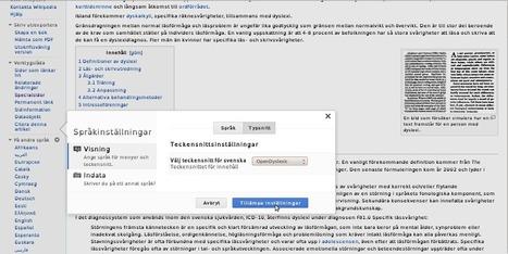 Wikipedia, även för dig med dyslexi | Folkbildning på nätet | Scoop.it