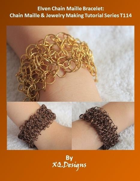 Elven Chain Maille Bracelet | DIY Chain Maille Tutorials | Scoop.it