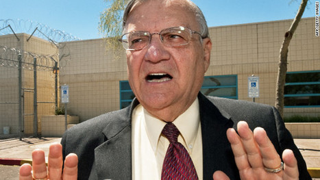 Sheriff Joe Arpaio: 38 Arizona inmates who defaced flag to eat only bread, water | AP Government: Current Events | Scoop.it