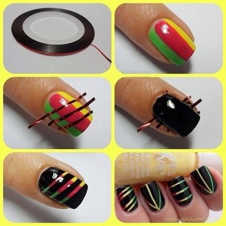 Simple Nail Art Tutorials - DIY | Around the world | Scoop.it
