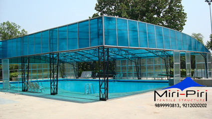 Swimming Pool Structures Manufacturers and Suppliers India   Awnings and Canopies Manufacturers India   Scoop.it