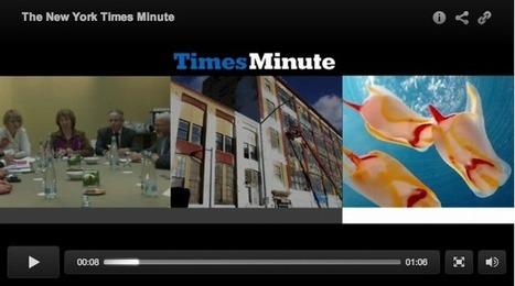 New York Times launches bite-size video news | Kazetaritza digitala | Scoop.it