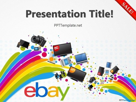 Free eBay With Logo PPT Template | Free PPT Templates | Scoop.it