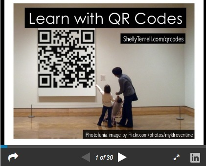 Learn With QR Codes! 22+ Apps, Web Tools and Activities – Teacher Reboot Camp | Into the Driver's Seat | Scoop.it