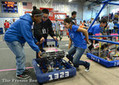 Madera High taken over by Frisbee-flinging robots -- and students who made them - Fresno Bee | STEM | Scoop.it