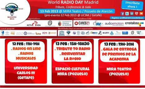 Ya puedes reservar tu plaza para el World RADIO DAY Madrid | OCENDI | Radio 2.0 (Esp) | Scoop.it