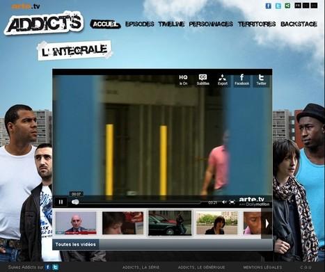 Addicts, première websérie produite par Arte | L'actualité du webdocumentaire | Scoop.it