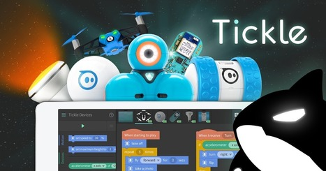 Tickle: Program Arduino, Drones, Robots, and Smart Homes from iPad | Teaching in Higher Education | Scoop.it