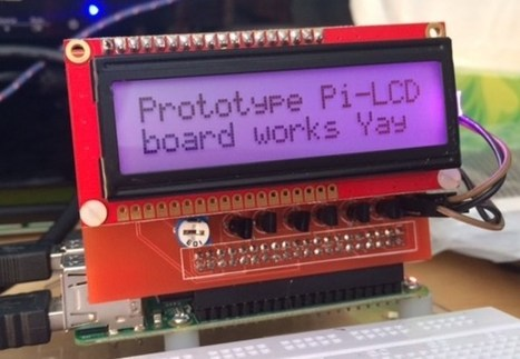 Raspberry Pi Simple LCD Interface Board Pi-LCD Unveiled - Geeky Gadgets   Raspberry Pi   Scoop.it