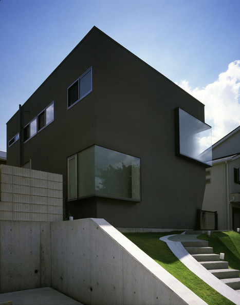 horibe naoko architect office: house in suita | Building(s) Homes & Cities | Scoop.it