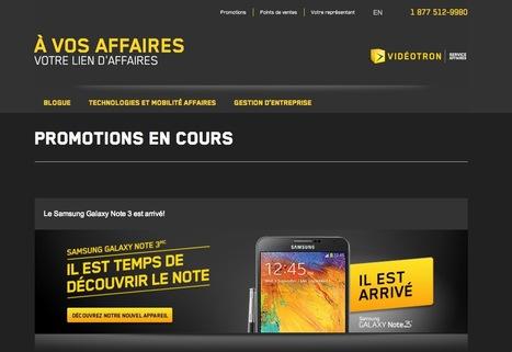 Promotions - À Vos Affaires | Beaux sites WordPress | Scoop.it
