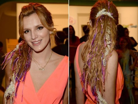 Bella Thorne Colorful Chanel-Inspired Dreadlocks — Love Or Loathe? - Hollywood Life | TAFT: Trends And Fashion Timeline | Scoop.it
