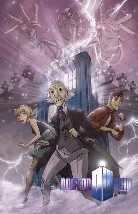 The Doctor Who Animated Series That Never Was - Bleeding Cool Comic Book, Movies and TV News and Rumors | Master of My Domain | Scoop.it