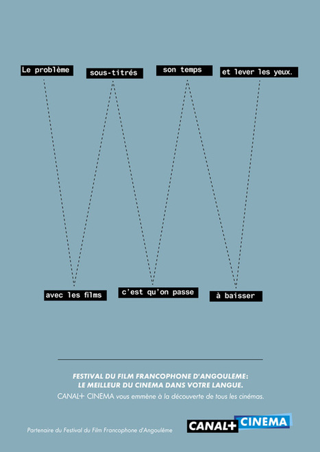 La nouvelle campagne print de Canal+   Communication-publicite   Scoop.it