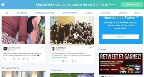 Twitter déploie sa nouvelle page d'accueil pour les non-connectés | Référencement internet | Scoop.it
