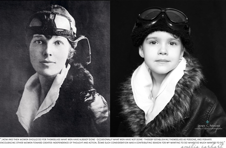 Photographer Takes Portraits of Her 5-Year-Old Daughter Dressed as Famous Women from History | English Classes | Scoop.it
