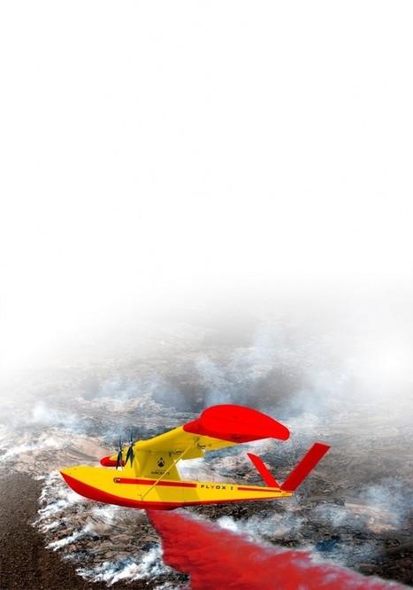 Un drone mis au point contre les incendies de forêt | Libertés Numériques | Scoop.it