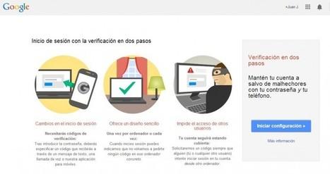Recursos para mejorar la seguridad de nuestra cuenta de Google | Aprendiendoaenseñar | Scoop.it