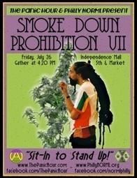 Marijuana Legalization Advocates Return to Independence Hall This Friday for Smoke Down Prohibition VII   marijuanas   Scoop.it