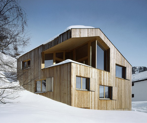 Suisse, Cozy Mountain Cabin par Oos | Architecture et montagne | Scoop.it
