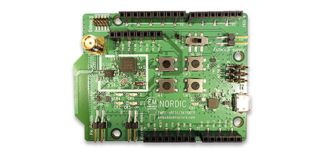 Nordic-powered Arduino evaluation kit delivers battery efficient range extension to makers and developers of IoT solutions / Product Related News / News releases / News / Home - Ultra Low Power Wir... | Open Source Hardware News | Scoop.it