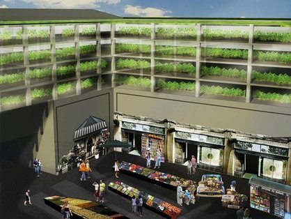 Vertical Farm Proposal Is Woven Into The Fabric Of The City | Vertical Farm - Food Factory | Scoop.it