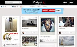 Deux réseaux sociaux similaires à Pinterest réservés aux hommes   Freewares   Scoop.it