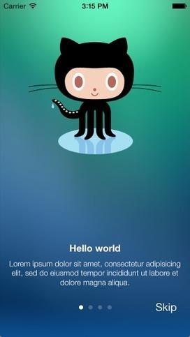 ealeksandrov/EAIntroView | iOS Dev | Scoop.it