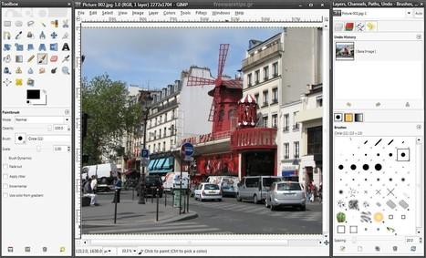 Gimp - Επεξεργασία φωτογραφιών | Freeware Tips | Scoop.it