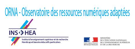 #ORNA - Observatoire des ressources numériques adaptées #INSHEA | loudoufinen | Scoop.it