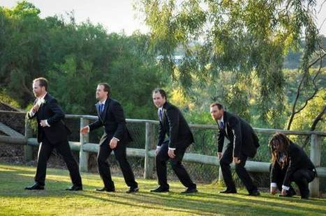 My mates wedding picture with his groomsmen is hilarious.   Funny ...   Pictures - Senior, Maternity, Fashion, Family and Weddings   Scoop.it