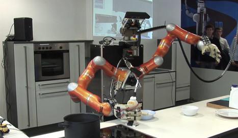 2 Robots qui préparent le petit déjeuner | Le Journal du Geek | Les robots domestiques | Scoop.it