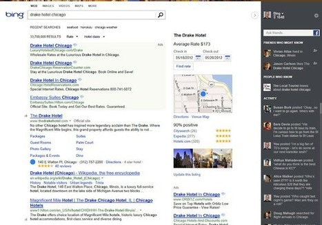 Bing Introduces 3-Column Search Results With Snapshots, Social Sidebar | SEO Tips, Advice, Help | Scoop.it
