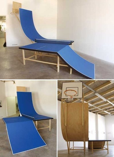 Ping Pong Peculiar: 6 Extreme(ly Fun) Table Tennis Surfaces | Designs & Ideas on Dornob | everything-is-art | Scoop.it