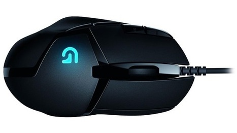 """Logitech unveils the G402 Hyperion Fury, claims """"fastest gaming mouse"""" title - PC Gamer Magazine 