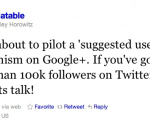 100k+ followers on Twitter? Google+ may put you on its new suggested user list | Google+ and Social Networking | Scoop.it