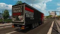 Renault Trucks Racing Trailer | ETS2 Mods | Scoop.it