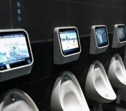 Gaming Comes to the Bathroom with Urinals that Encourage You to Play - The Boundary Bathrooms Blog   Bathrooms   Scoop.it